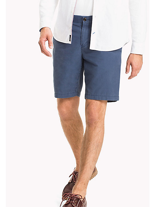 TOMMY HILFIGER Classic Regular Fit Cotton Shorts - SKY CAPTAIN - TOMMY HILFIGER Shorts - main image