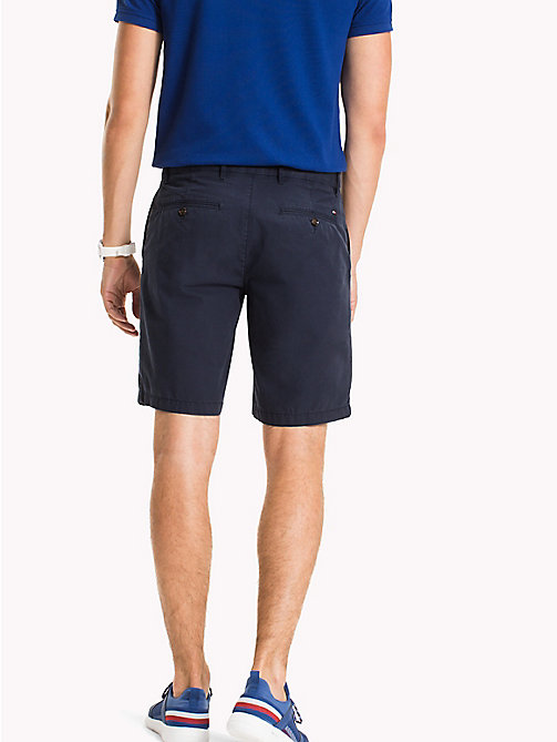 TOMMY HILFIGER Classic Regular Fit Cotton Shorts - SKY CAPTAIN - TOMMY HILFIGER NEW IN - detail image 1