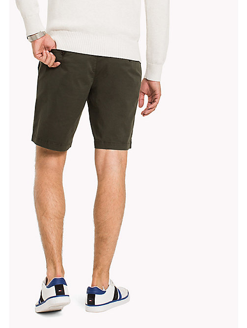 TOMMY HILFIGER Straight Fit Shorts - DEEP DEPTHS - TOMMY HILFIGER Shorts - main image 1