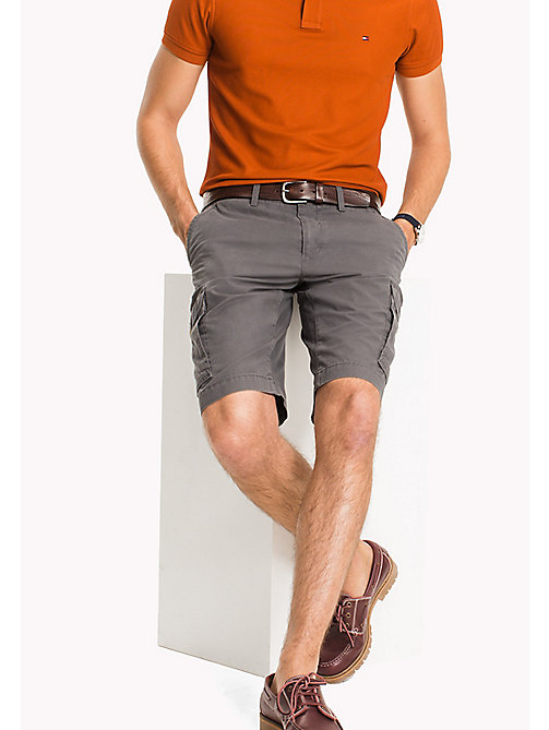 TOMMY HILFIGER Pure Cotton Cargo Shorts - ALL COLORS - TOMMY HILFIGER Vacation Style - main image