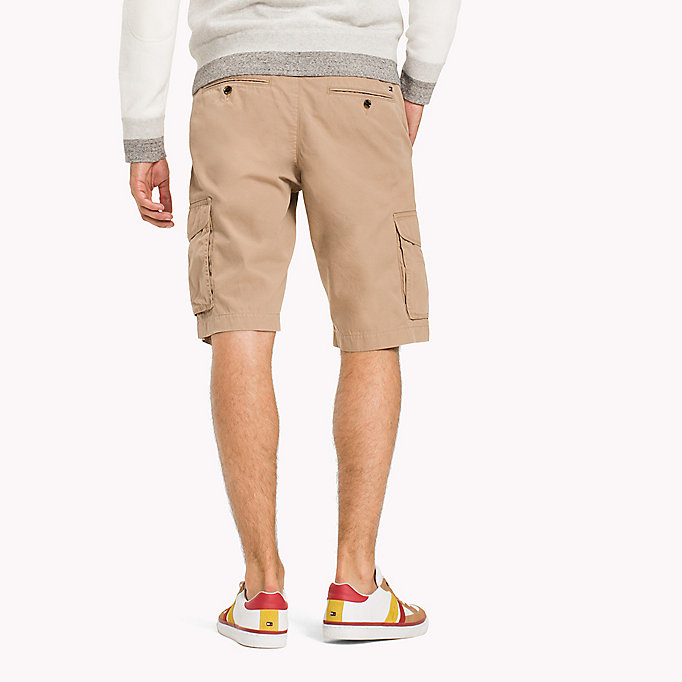 TOMMY HILFIGER Pure Cotton Cargo Shorts - ALL COLORS - TOMMY HILFIGER Men - detail image 1