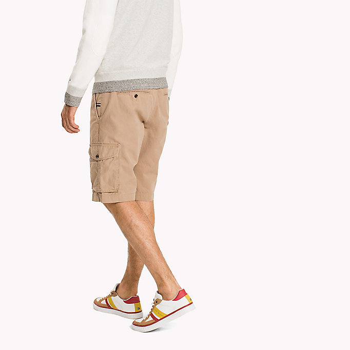 TOMMY HILFIGER Pure Cotton Cargo Shorts - ALL COLORS - TOMMY HILFIGER Men - detail image 2