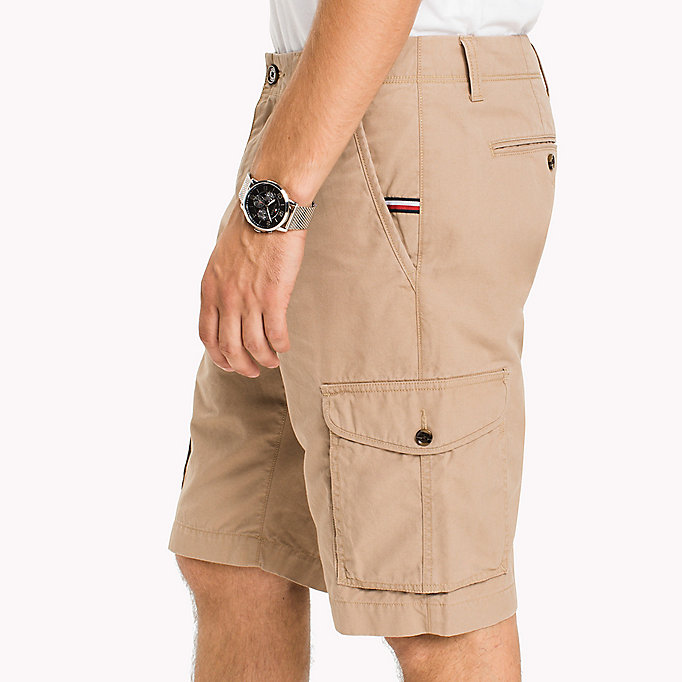 TOMMY HILFIGER Pure Cotton Cargo Shorts - ALL COLORS - TOMMY HILFIGER Men - detail image 3