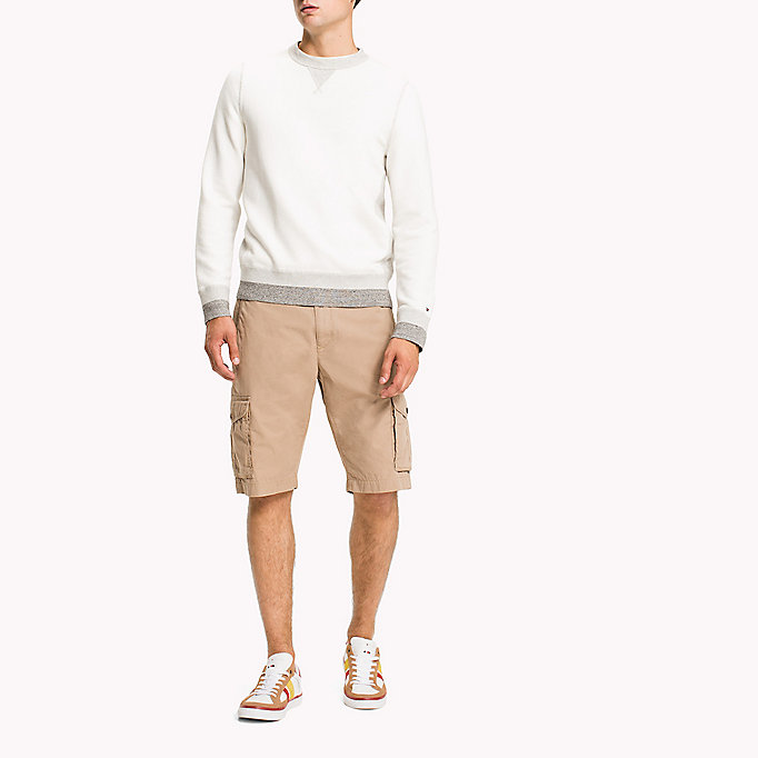 TOMMY HILFIGER Pure Cotton Cargo Shorts - ALL COLORS - TOMMY HILFIGER Men - main image