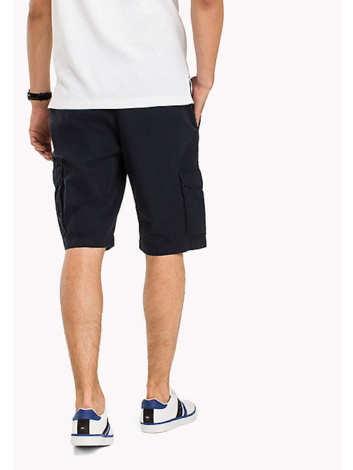 TOMMY HILFIGER Pure Cotton Cargo Shorts - SKY CAPTAIN - TOMMY HILFIGER Shorts - detail image 1