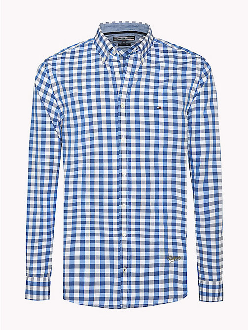 TOMMY HILFIGER Regular Fit Checked Shirt - SHIRT BLUE / MULTI - TOMMY HILFIGER Shirts - main image