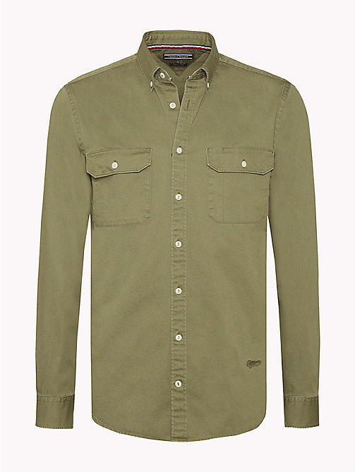 TOMMY HILFIGER Camicia militare - FOUR LEAF CLOVER - TOMMY HILFIGER Camicie - immagine principale
