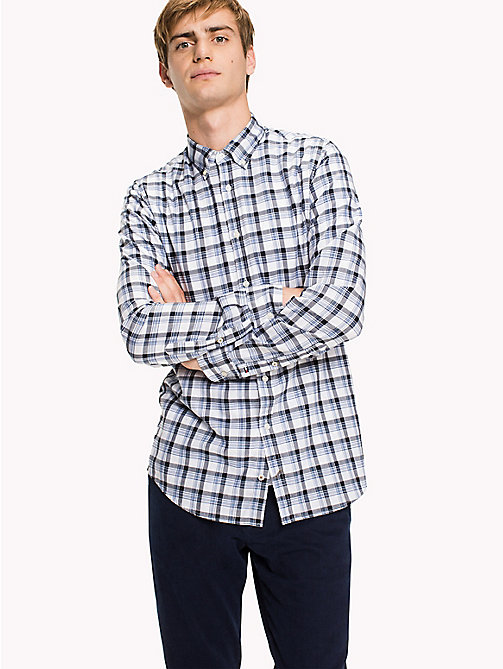TOMMY HILFIGER Slim Fit Checked Shirt - INFINITY / SKY CAPTAIN - TOMMY HILFIGER Shirts - detail image 1