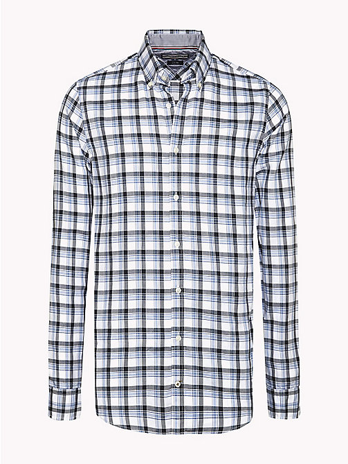 TOMMY HILFIGER Slim Fit Checked Shirt - INFINITY / SKY CAPTAIN - TOMMY HILFIGER Shirts - main image