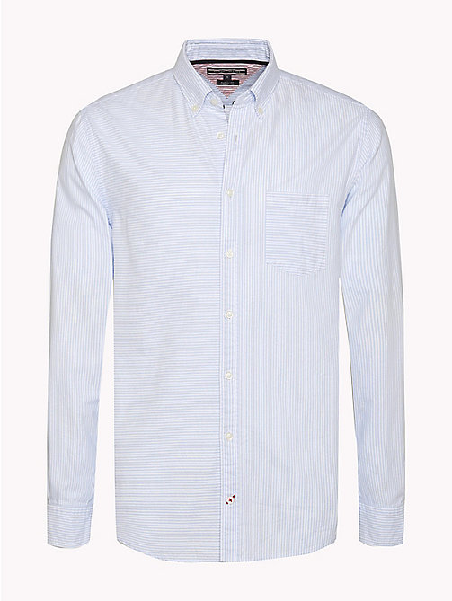 TOMMY HILFIGER Camicia a righe Ithaca - LIGHT SHIRT BLUE / BW - TOMMY HILFIGER Camicie - immagine principale