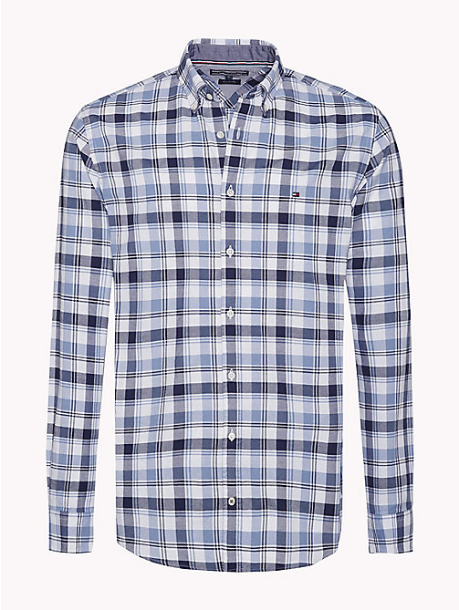 TOMMY HILFIGER Regular Fit Checked Shirt - MARITIME BLUE / INFINITY - TOMMY HILFIGER Clothing - main image