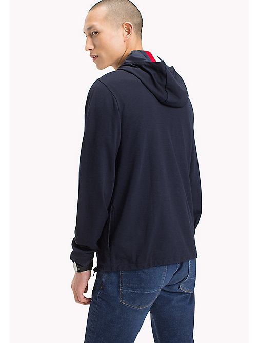 TOMMY HILFIGER Hooded Anorak - NAVY BLAZER - TOMMY HILFIGER Men - detail image 1