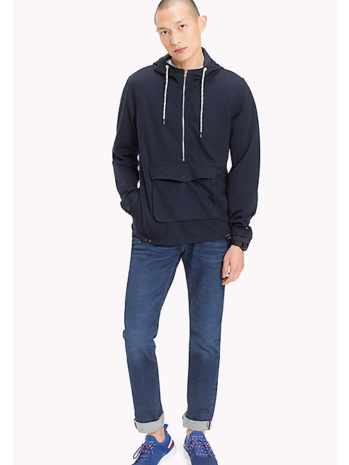 TOMMY HILFIGER Hooded Anorak - NAVY BLAZER - TOMMY HILFIGER Men - main image