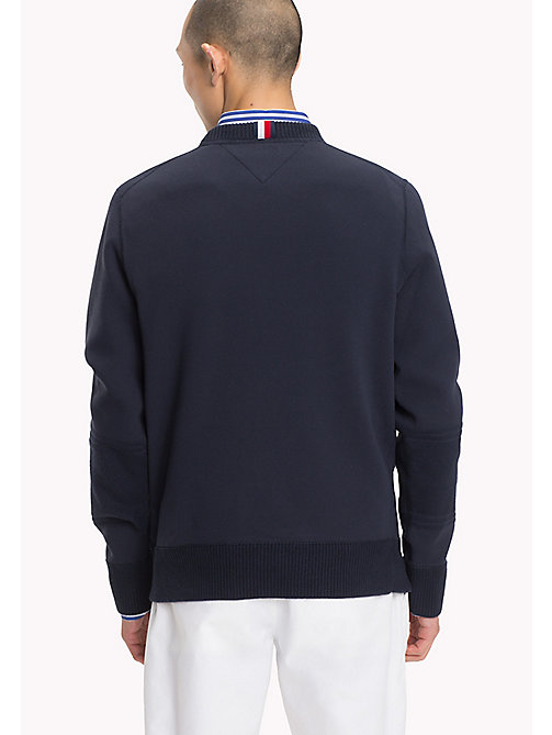 TOMMY HILFIGER Essential Crew Neck Jumper - SKY CAPTAIN - TOMMY HILFIGER Clothing - detail image 1