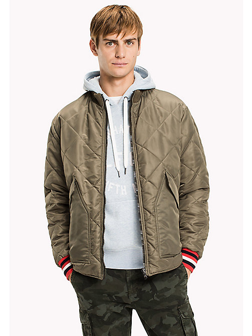 TOMMY HILFIGER Reversible Camo Bomber - DEEP DEPTHS - TOMMY HILFIGER Coats & Jackets - main image