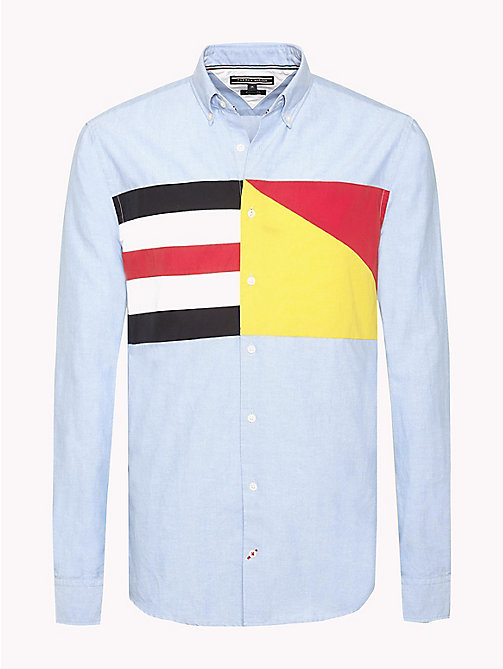 TOMMY HILFIGER Regular Fit Sailing Flag Shirt - SHIRT BLUE / MULTI - TOMMY HILFIGER Shirts - main image