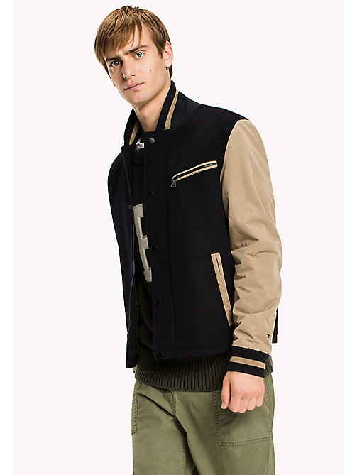 TOMMY HILFIGER Classic Nylon Bomber - SKY CAPTAIN - TOMMY HILFIGER Clothing - main image