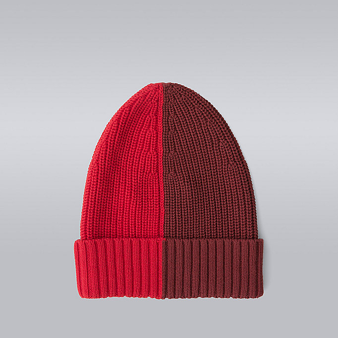 TOMMY HILFIGER Blokgestreepte beanie - Hilfiger Edition - SNOW WHITE/BARBADOS CHERRY/SKY CAPTAIN/S - TOMMY HILFIGER Heren - detail image 1