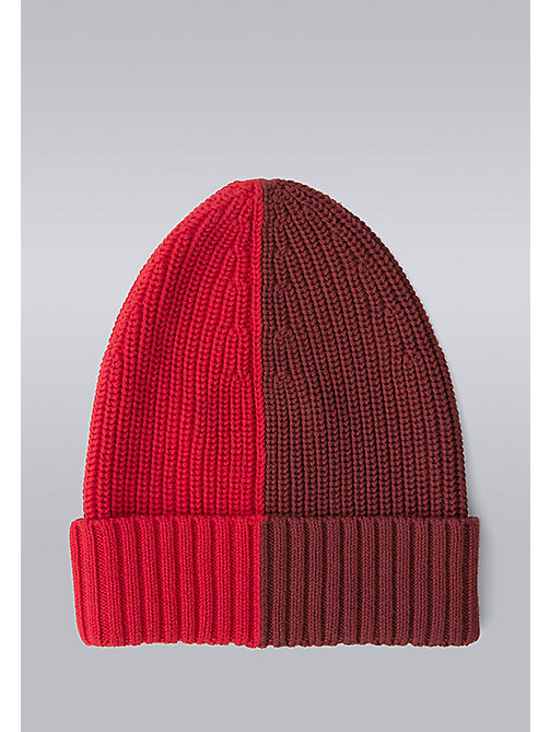 TOMMY HILFIGER Block Stripe Beanie - Hilfiger Edition - SYRAH/BARBADOS CHERRY - TOMMY HILFIGER Bags & Accessories - detail image 1