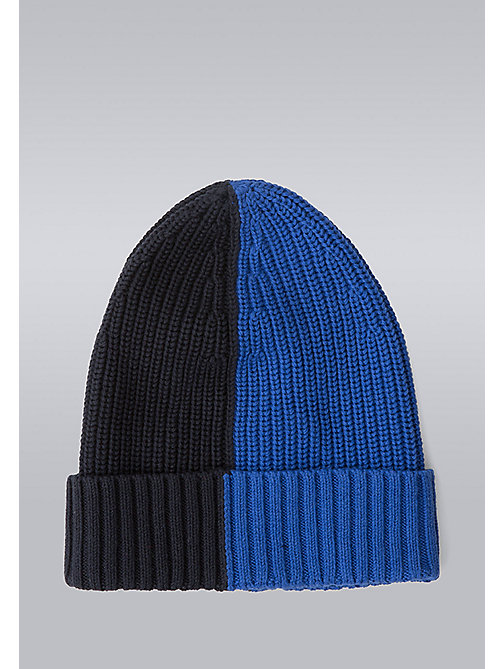 TOMMY HILFIGER Block Stripe Beanie - Hilfiger Edition - SURF THE WEB/SKY CAPTAIN - TOMMY HILFIGER Bags & Accessories - detail image 1