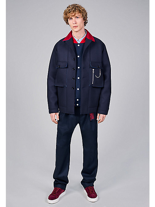 TOMMY HILFIGER Oversized Shirt - SKY CAPTAIN - TOMMY HILFIGER Coats & Jackets - detail image 1