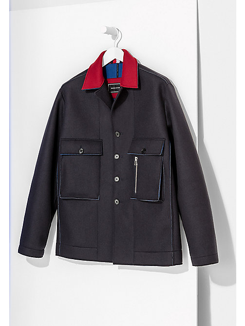 TOMMY HILFIGER Oversized Shirt - SKY CAPTAIN - TOMMY HILFIGER Coats & Jackets - main image