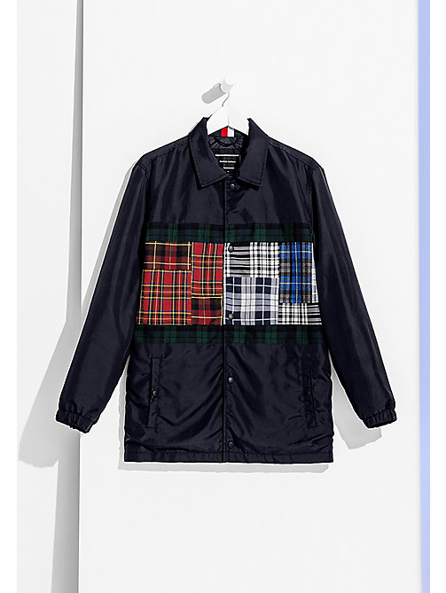 TOMMY HILFIGER Flag Logo Coach Jacket - SKY CAPTAIN - TOMMY HILFIGER Coats & Jackets - main image