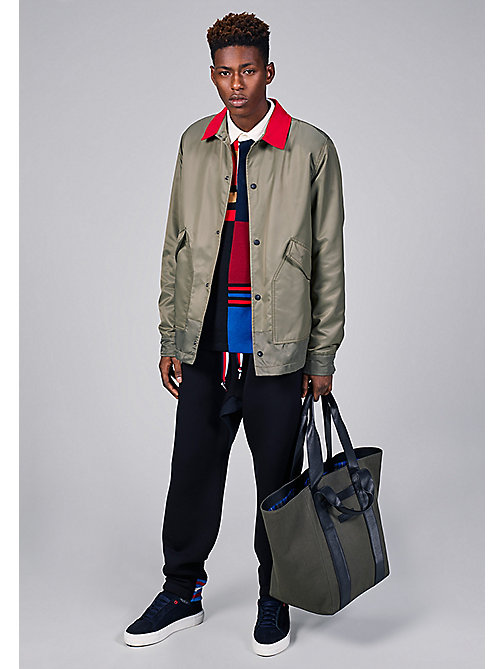 TOMMY HILFIGER Short Army Coach - Hilfiger Edition - DUSTY OLIVE - TOMMY HILFIGER Coats & Jackets - detail image 1