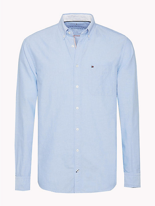 TOMMY HILFIGER Regular Fit Oxford Shirt - SHIRT BLUE - TOMMY HILFIGER Vacation Style - main image