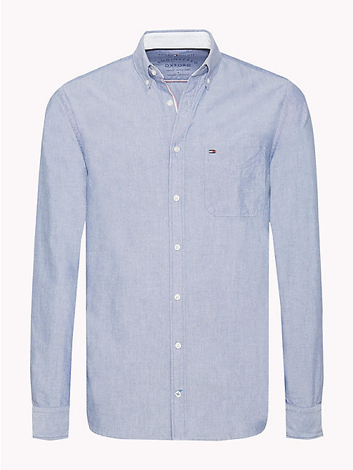 TOMMY HILFIGER Regular Fit Oxford Shirt - ESTATE BLUE - TOMMY HILFIGER Men - main image