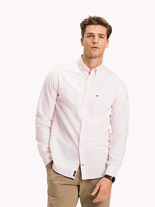 TOMMY HILFIGER Camicia Oxford regular fit - CORAL BLUSH - TOMMY HILFIGER Camicie Casual - dettaglio immagine 1