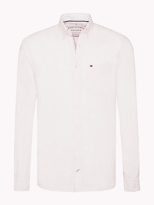 TOMMY HILFIGER Camicia Oxford regular fit - CORAL BLUSH - TOMMY HILFIGER Camicie Casual - immagine principale
