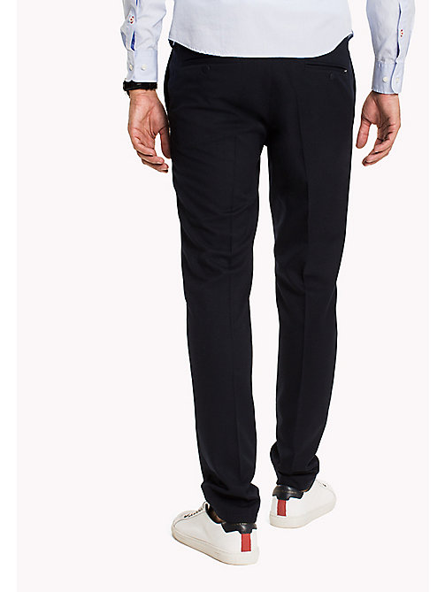 TOMMY HILFIGER Active Wool Trousers - SKY CAPTAIN - TOMMY HILFIGER Trousers - detail image 1