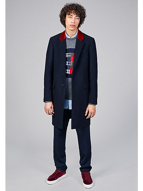 TOMMY HILFIGER Wool Coat - Hilfiger Edition - SKY CAPTAIN - TOMMY HILFIGER Coats & Jackets - detail image 1