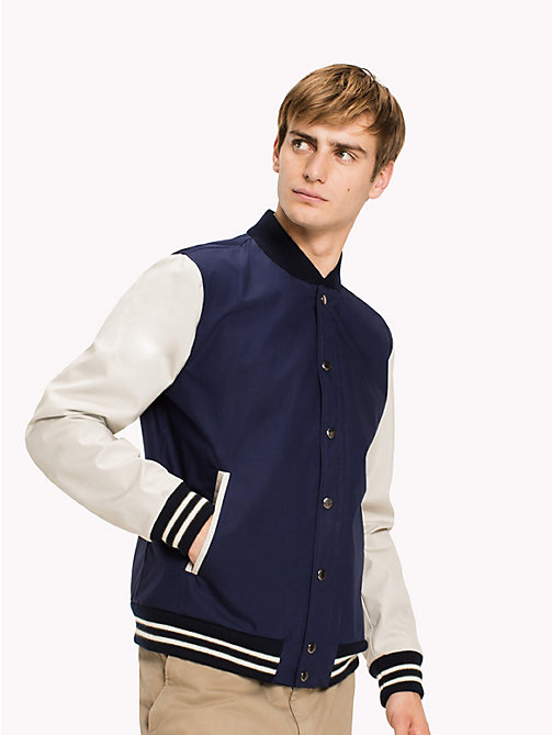 TOMMY HILFIGER Colourblocked Bomber - SKY CAPTAIN - TOMMY HILFIGER Coats & Jackets - main image