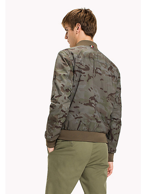 TOMMY HILFIGER Camo Bomber - CAMO PRINT - TOMMY HILFIGER Coats & Jackets - detail image 1