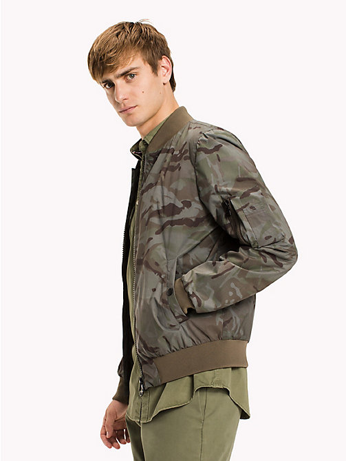 TOMMY HILFIGER Camo Bomber - CAMO PRINT - TOMMY HILFIGER Coats & Jackets - main image