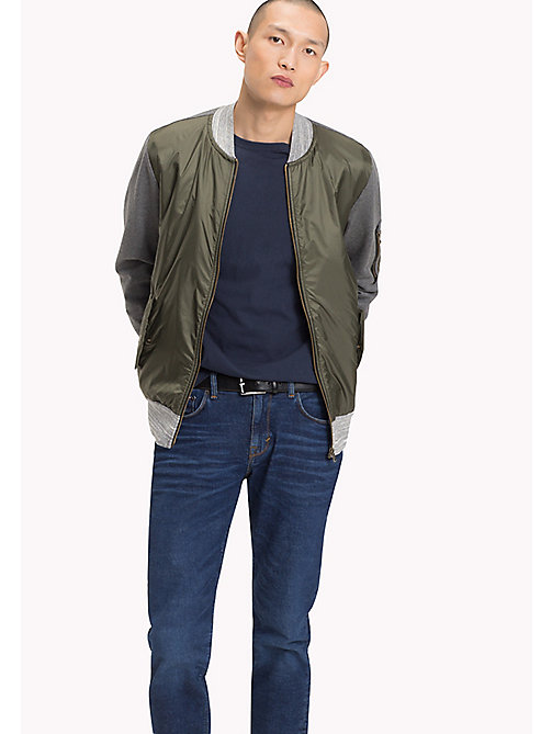 TOMMY HILFIGER Colourblocked Bomber - DEEP DEPTHS - TOMMY HILFIGER Men - main image