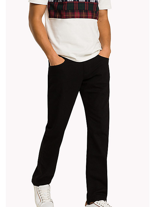 TOMMY HILFIGER Relaxed Fit Jeans - CLEAN BLACK - TOMMY HILFIGER Big & Tall - main image