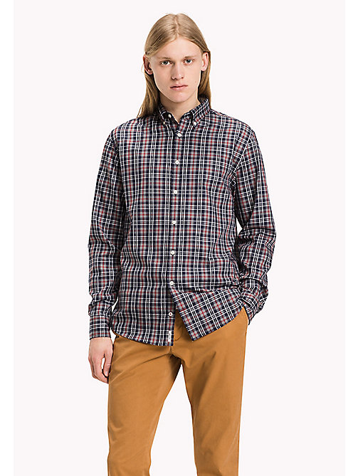 TOMMY HILFIGER Regular Fit Shirt - Big & Tall - RIO RED / MULTI - TOMMY HILFIGER Big & Tall - main image