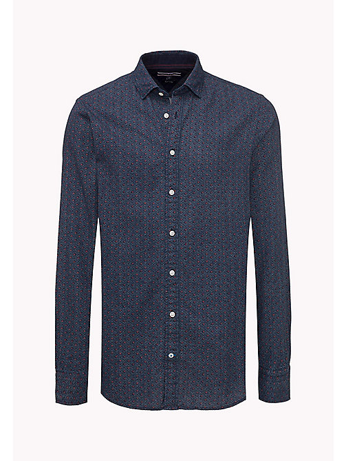 TOMMY HILFIGER Regular Fit Shirt - Big & Tall - INDIGO / PUREED PUMPKIN - TOMMY HILFIGER Big & Tall - detail image 1