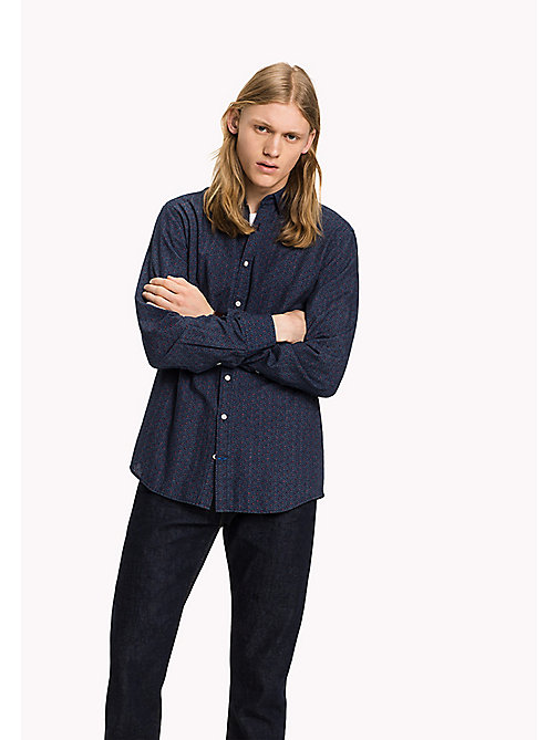 TOMMY HILFIGER Regular Fit Shirt - Big & Tall - INDIGO / PUREED PUMPKIN - TOMMY HILFIGER Big & Tall - main image