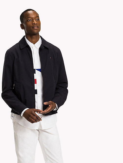 TOMMY HILFIGER Classic Cotton Jacket - SKY CAPTAIN - TOMMY HILFIGER Coats & Jackets - main image