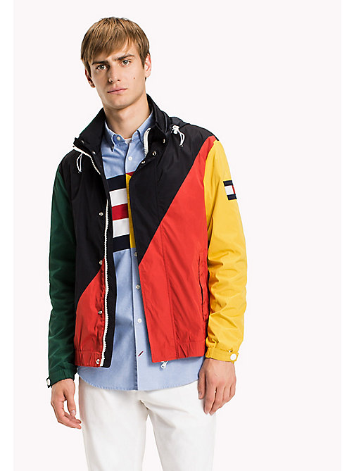 TOMMY HILFIGER Colourblocked Sailing Jacket - SKY CAPTAIN - TOMMY HILFIGER Coats & Jackets - main image