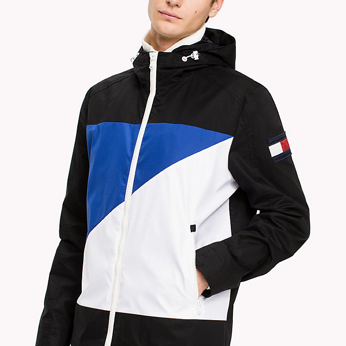 TOMMY HILFIGER Cotton Sailing Jacket - OYSTER GRAY - TOMMY HILFIGER Clothing - detail image 3