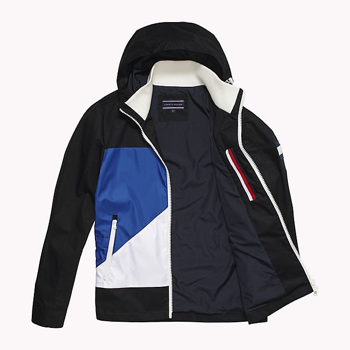 TOMMY HILFIGER Cotton Sailing Jacket - OYSTER GRAY - TOMMY HILFIGER Clothing - detail image 4