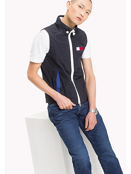 TOMMY HILFIGER Lightweight Gilet - SKY CAPTAIN - TOMMY HILFIGER Clothing - main image