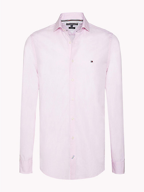 TOMMY HILFIGER Slim Fit Shirt - CORAL BLUSH - TOMMY HILFIGER Shirts - main image