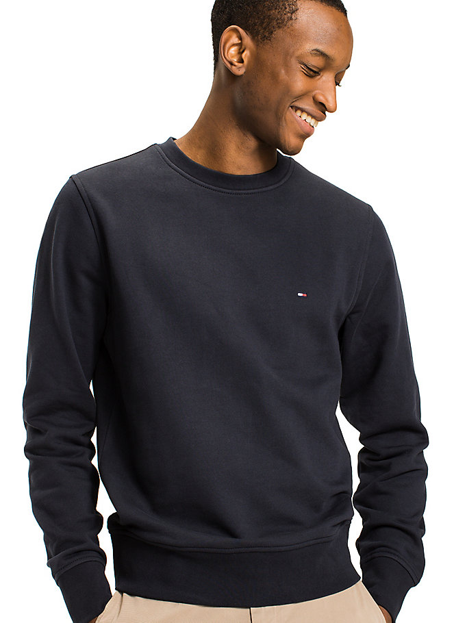 TOMMY HILFIGER Cotton Regular Fit Sweatshirt - CLOUD HTR - TOMMY HILFIGER Men - detail image 2