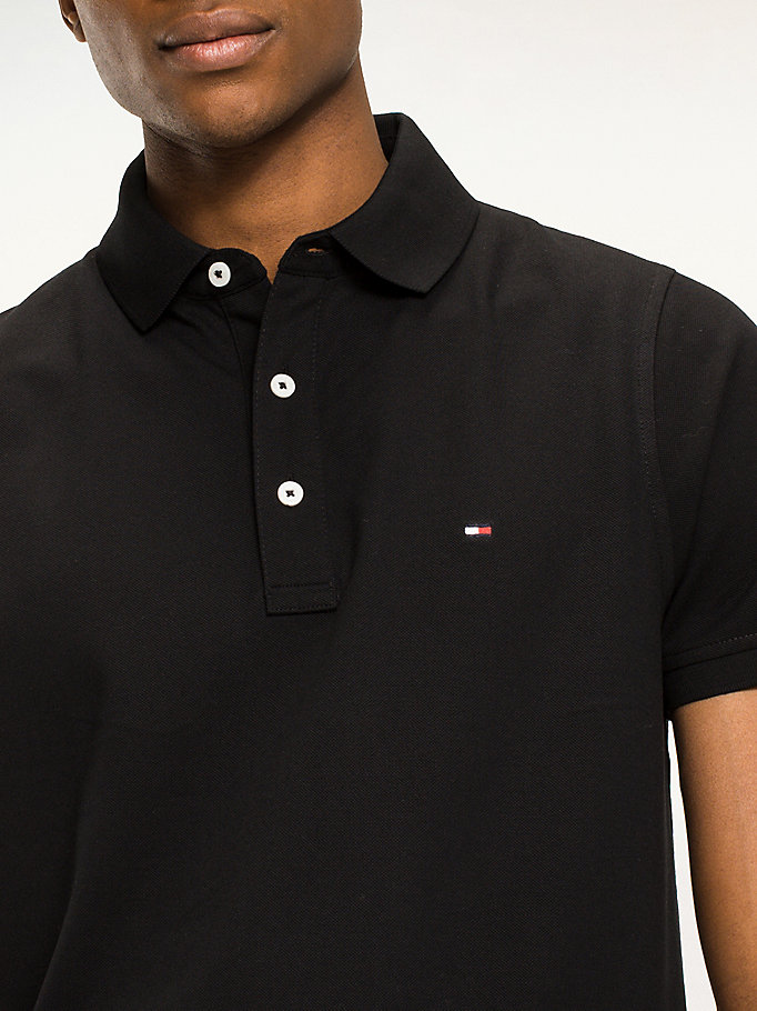 TOMMY HILFIGER Classic Slim Fit Polo Shirt - CLOUD HTR - TOMMY HILFIGER Clothing - detail image 2